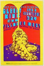 BILL GRAHAM BG 172 Fillmore West Poster, 1969. Albert King, It's a Beautiful Day