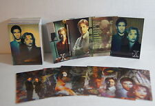 X-FILES SERIES 1 (1995) Complete Base Card Set w/ ALL 10 CHASE (i1-i6 & X1-X4)