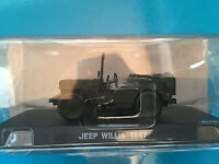"DIE CAST "" JEEP WILLIS - 1947 "" 1/43 CARABINIERI"