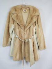 New listing Vintage S. P. Trippy Blond Mink Fur Coat