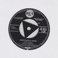 """LENA HORNE ~ Honeysuckle rose / A new fangled tango ~ 1957 7"""""""