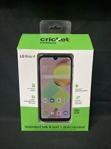 CRICKET WIRELESS LG RISIO 4 UNLIMITED TALK,TEXT & DATA ACCESS 4G LTE 16GB