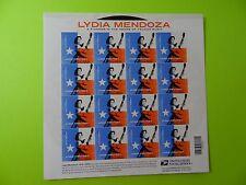 Stamps US * SC 4786 * Lydia Mendoza Music Icon * Sht of 16 * MNH * 2013