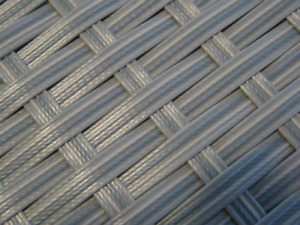 1m (3.28ft) Replacement Wicker Repair Rattan BRAID MIX GREY for chairs/tables/et