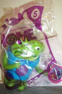 MCDONALDS 2015 DREAMWORKS HOME #5 NERVOUS OH ACTION FIGURE NEW N BAG 3 INCH TOY