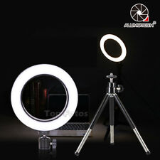 64 LED Mini Ring Light With Ball Head Sepless Dimming For Phone Live Show Video