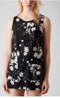 Top Shop Black Floral Playsuit Summer Festival Holiday Size 10 £30