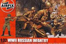 Airfix 14 Soldaten Russische Infanterie Diorama 1:32 Modell-Bausatz Figuren kit