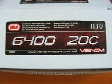 Venom 15009 LiPo 3S 11.1V 6400 Universal Battery Plug System NEW