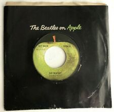 THE BEATLES, GET BACK, APPLE#2490, BEATLEMANIA 45 RECORD, 1969