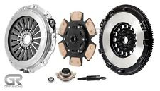 GRIP RACING STAGE 3 CLUTCH KIT+RACE FLYWHEEL for WRX STi 04-18 2.5L TURBO EJ257