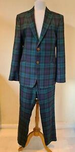 Vivienne Westwood rare Blackwatch tartan Suit Size 50