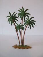 BRITAINS Plastic Zoo Animals: DATE PALM TREE 1960's (With brown base)
