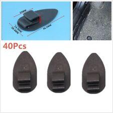40Pcs Car Floor Mat Carpet Clips Set of Anti-Slip Fixing Retainers Edge CLIP NEW