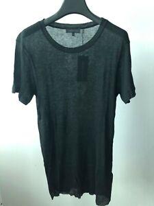 Ann Demeulemeester Top Pierre Print Black Tee size XXS Printed T-shirt