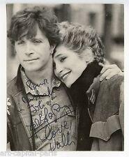 CHAGRIN D'AMOUR PHOTOGRAPHIE SIGNÉE À L'ENCRE HANDSIGNED PHOTOGRAPH GROUPE 1980