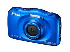 Kompaktkamera (wasserdicht) Nikon COOLPIX W100 13,2 MP - BLAU , 3x Zoom