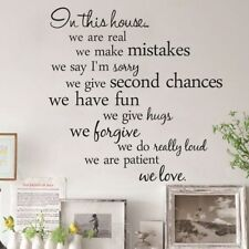 Family Quote Wall Sticker Art Vinyl Decal Mural Home Bedroom Decoration