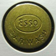 Vintage Esso Car Wash Token  24.5 mm