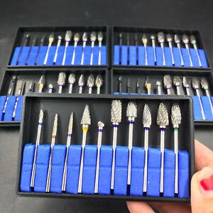 1/5/10 Dental Lab Polishing Bur Drills Tungsten Steel Carbide Burs Burrs 2.35MM