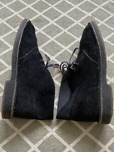 Clarks Black Desert Boots 7.5