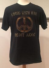 CSNY Crosby Stills Nash & Young Living WIth War Right Now 2006 T Shirt Large
