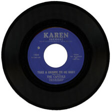 """THE CAPITOLS  """"TAKE A CHANCE ON ME BABY c/w PATTY CAKE""""   NORTHERN SOUL"""
