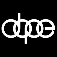 dope audi decal sticker 8 inch Ken Block Drifting Stance JDM HOON HOONING