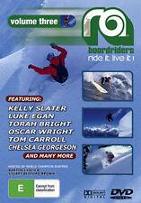 RA VOLUME 3 SURFING SKATEBOARDING SNOWBOARDING DVD