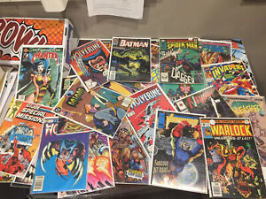 Mystery Comic Box (Assorted 25 Comics) MARVEL, DC, IMAGE, IDW +.  Silver-modern