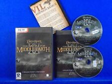 pc LORD Of The RINGS Battle For Middle Earth II 2 *x Collectors Edition + MAP