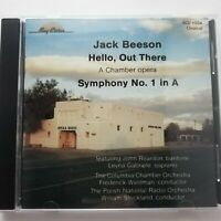 Beeson, Jack: Hello, Out There etc. / Waldman etc. / Bay Cities CD BCD1034