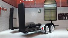 LGB 1:24 Scale Car Trailer Transporter Recovery Display Diecast Detailed Model