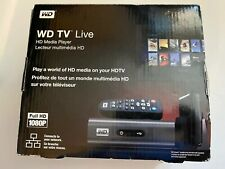 New OB Sealed WD Western Digital TV Live Full HD Media Player WDBAAN0000NBK Fast