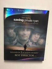 Saving Private Ryan (Blu-ray Disc, 2010, 2-Disc,Sapphire Series) New w/slipcover