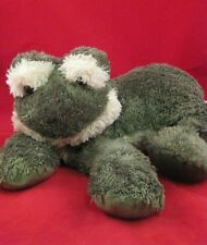 KellyToy Plush Frog Green Frogy Bean Feet 17P7 Stuffed Animal Toy Lovey Plushie