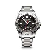 New Victorinox Pro Diver INOX Black Dial Stainless Steel Men's Watch 241781