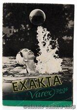 IHAGEE DRESDEN Prospekt EXAKTA VAREX Kamera Broschüre (X2105