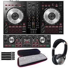 Pioneer DDJ-SB3 Compact Serato DJ Controller w/ Mixer & Portable DJ2GO2 Touch