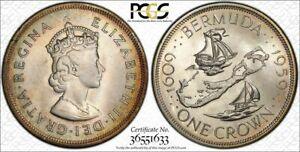 1959 Bermuda Crown MS68 PCGS