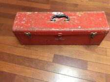 """Vintage Craftsman Carpenters Tool Chest Box 30"""" Long w Tray"""