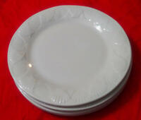 Everyday Gibson sea shell dinner plates set