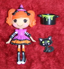 Lalaloopsy Mini Doll Candy Broomsticks the witch Bucket Cat Retired Figure Doll
