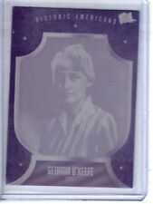 PIECES OF THE PAST VOLUME TWO  GEORGIA O'KEEFE 1/1 PRINTING PLATE  ONLY ONE MADE