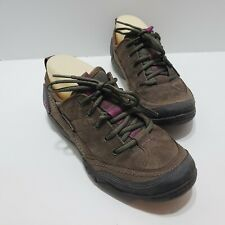 Merrell Mimosa Stone Brown Suede Lace Up Sneaker Shoes J55848 Women's Size 7