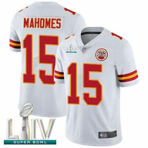 Nike Kansas City Chiefs Patrick Mahomes Men's White Super Bowl Game Jersey 2XL