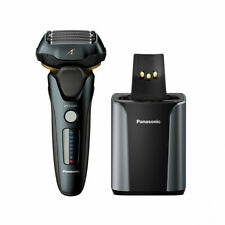 Panasonic 5-Blade wet and dry with Sensor Technology Shaver with Auto Cleaning/C