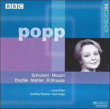 Lucia Popp sings Schubert Mozart, Dvorak Mahler R Strauss BBC Legends Rare OOP