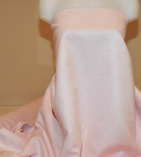 """FAUX SUEDE FABRIC 100% POLYESTER, DOUBLE FACE, SOFT 60"""" BABY PINK   BTY"""