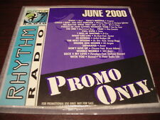PROMO ONLY RHYTHM RADIO CD JUNE 2000 NEW WHITNEY HOUSTON